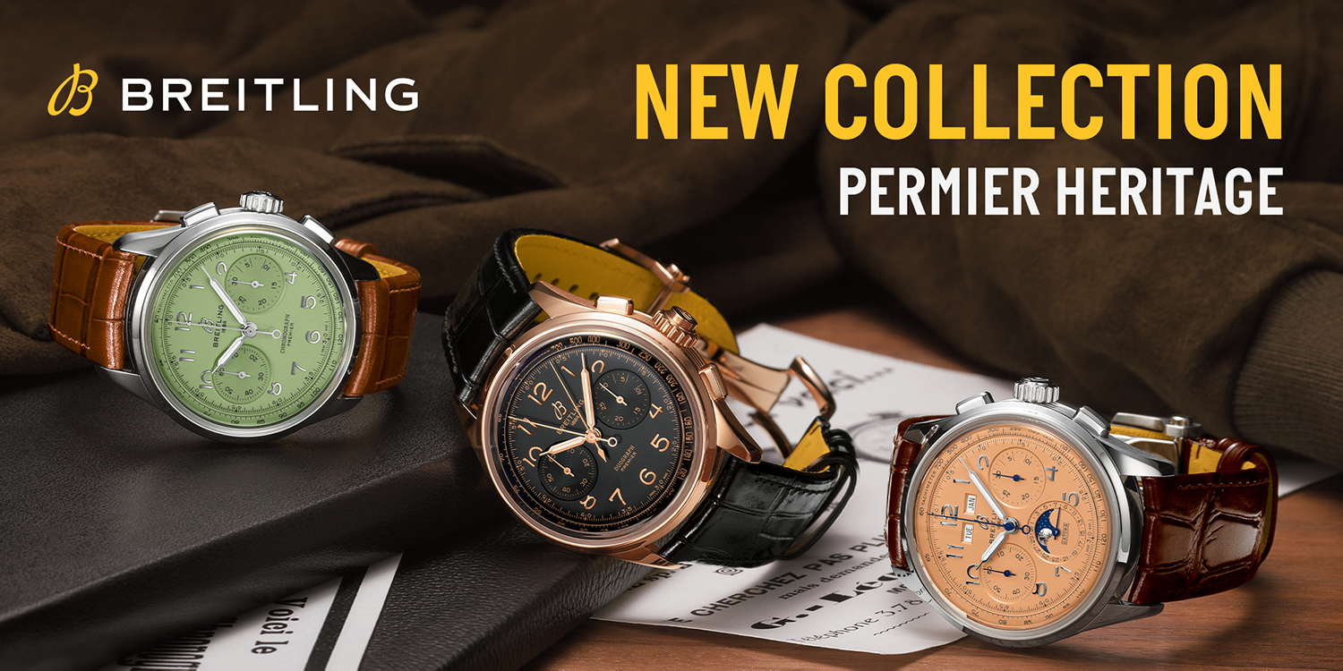 BREITRING NEW COLLECTION